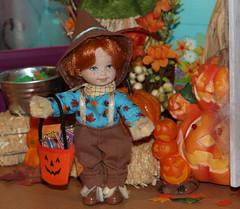 Halloween 2015 IMG_3816 (Creative.Gal.62) Tags: fall halloween ken barbie tommy kelly diorama