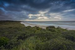 No. 1056 Windy eve at the Uggerby beach (H-L-Andersen) Tags: hlandersen canoneos6d landoflight lee leefilters little stopper littlestopper le longexposure wind sea beach denmark uggerbyå uggerbystrand manfrotto tversted