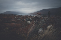 Magic of the Highlands (jakeofjakeness) Tags: winter sky mountains grass rain clouds river landscape photography scotland highlands rocks balance loch scotish vsco