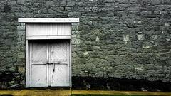 Bolted (tonyajbender) Tags: door old stone architecture pennsylvania antique historic jail bolt deadlock chambersburg photochallengeorg photochallenge2016