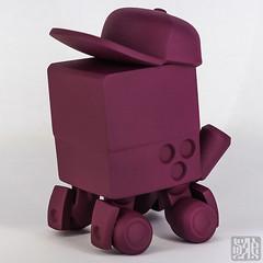 SWAGGBOT (RestInPaint) Tags: art zeiss toy toys robot 3d plastic prototype hugo process ghetto wacom printed mecha bermudez swagg restinpaint sadgas ghettoplastic ultimaker sonyilce