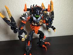 MOD: Lava Beast - 03 (stubs4limbs) Tags: bionicle ccbs stubs4limbs lego moc