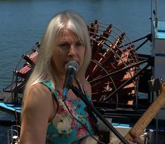 Big Wheel Keep On Turning (swong95765) Tags: musician woman female artist guitar singer blonde bigwheel platinum