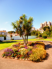 Runnymede Gardens, Ilfracombe, North Devon (photphobia) Tags: road park uk houses sky holiday building green gardens architecture buildings hotel vanishingpoint seaside outdoor perspective victorian runnymede ilfracombe northdevon oldwivestale victorianresort buildingsarebeautiful runnymedegardens