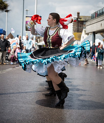 187/366 - Folk on the Quay, Poole - 366 Project 2 - 2016 (dorsetpeach) Tags: england dance dancing dancer dorset 365 folkdance poole morena folkfestival 2016 morrisdance 366 aphotoadayforayear 366project second365project folkonthequay