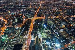 Osaka City (yiming1218) Tags: abeno harukas 300 osaka city japan cityscape architecture nightscape nightview       tennoji   sel1635z sony fe 1635 1635mm f4 oss ilce7m2 a7m2 a7ii kansai