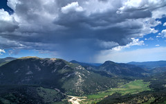 Mountain Rain (Frank McNamara) Tags: mountains rain nationalpark colorado nps rockymountains droh