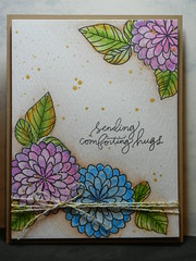 Comforting Hugs (inks4fun2) Tags: simon cards stamps july homemade card kit says sss 2016 thedailymarker30day sssflickrchallenge49