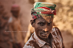 Of Rust & Dust (Kamrul - Hasan) Tags: portrait people brown man living intense rust rusty strong dust bangladesh
