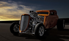 """Tequila Sunrise"" (Neil Banich Photography) Tags: cars car automobile details racing oldschool motor hemi custom artcar 1934 hotrods ratrod autoart carscool picturescool neilbanichphotograhy hotrodsdrag imagescool 19345windowcoupe"