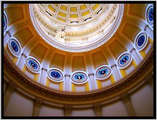 Rotunda Interior ~  Colorado State Capitol ~ Denver Co