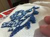 Ponto Russo - flores azuis (Bruna Scopel Moreira) Tags: handmade artesanato ponto russo bordado trabalhosmanuais artesmanuais