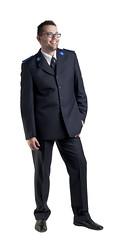 Uniform man (Het Leger des Heils) Tags: man uniform des leger pak heils
