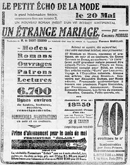 La Croix de la Drme - 17 mai 1931 (Mmoire et actualit en Rhne-Alpes) Tags: zipper presse rhnealpes fermetureclair petitechodelamode