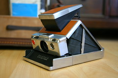POLAROID SX-70 Land Camera (raniel diaz) Tags: camera inspiration color beautiful leather modern yard vintage lens polaroid sx70 design reflex interesting sale first retro explore chrome single finish land instant material inspirational 1972 folding benchmark brushed searched