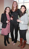 Orla Molloy,Louisa Kennedy and Jane O Neill at the Jacobs Creek Wine and Dine Experience Roadshow launch...Picture Brian McEvoy