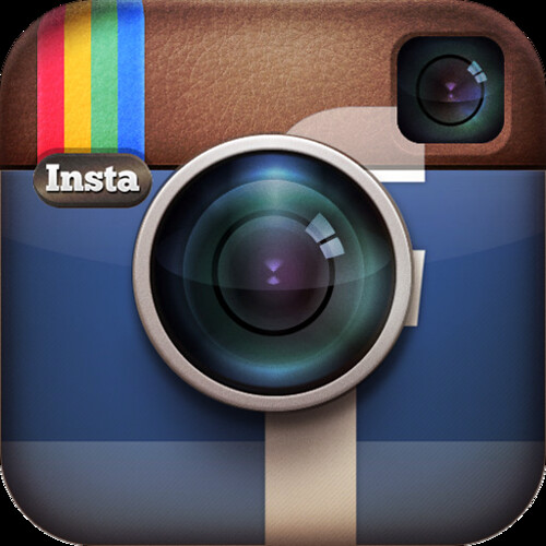 Instagram and facebook logo by beta75.se, on Flickr