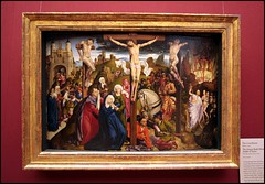 The Crucifixtion (greenthumb_38) Tags: california art museum painting la losangeles artwork gallery interior paintings collection gettymuseum 1022mm masterpiece masterpieces thegetty worksofart getycenter thejpaulgettymuseum canon40d jeffreybass
