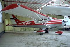 1992-05-25-004FN G-ASBH (BringBackEGDG) Tags: beagle airedale bodmin a109 cardinham