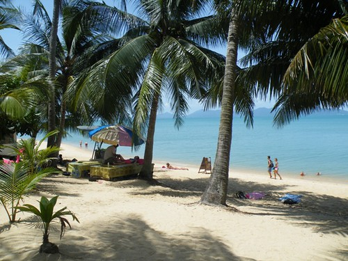 Take it easy on Mae Nam Beach, Ko Samui, Thailand