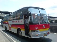 Victory Liner 780 (Bus Ticket Collector; Updated Version Of Me ) Tags: bus pub philippines nlex balintawak vli victoryliner nissandiesel dmmc pbpa lionsstar philippinebusphotographersassociation