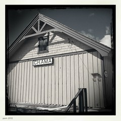 More Chama (pam's pics-) Tags: cameraphone railroad newmexico train railway depot locomotive nm chama smalltown tejas cumbrestoltecscenicrailroad northernnewmexico pammorris pamspics hipsta appleiphone mobilephonephotography hipstamatic blackeysbw iphone4s