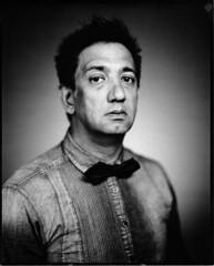 Ashok (Braca Nadezdic) Tags: blackandwhite film portraits largeformat harmandirectpositive