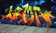 TINY DAGGERS (ALL CHROME) Tags: netherlands canon graffiti explorer kemer 2012 allchrome kem5 kems kemr