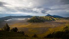 Java. Spectacular Bromo landscape. (Markus Hill) Tags: travel mountain berg canon indonesia landscape island java asia asien wideangle landschaft bromo indonesien vulcano 2012 vulkan