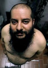 retrato 1 (Ana Maturana) Tags: retrato mirada hombre barba enpicado