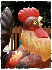 Pennsylvania ~ Moon Township (e r j k . a m e r j k a) Tags: chicken pennsylvania object figure allegheny whimsical moontownship gigantism erjkprunczyk i376pa