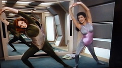 Deanna Troi And Beverly Crusher Exercising In Tights The Price Star Trek TNG (A.Currell) Tags: ladies sexy price marina trek star tv healthy exercise gates room tights next gymnastics 80s and series beverly deanna generation crusher tng aerobica the practicing in leotards troi mcfadden exercising sirtis