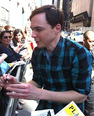 Stage Door (sfPhotocraft) Tags: usa newyork star fan broadway jim harvey actor fans playbill 2012 autographs stagedoor broadwayshow americanactor jimparsons