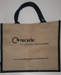 A Recycle for Greater Manchester canvas bag