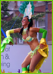 Samba A (The Old Brit) Tags: street carnival costumes festival liverpool fun glamour samba dancers candid performance smiles entertainment performers merseyside entertainers vivabrazil brazilica liverpoolcarnivalcompany brazilica2012