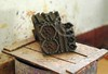 Wooden mould for ajrak design, Bhit Shah (Ameer Hamza) Tags: handicraft hand crafts craft lower sindhu sindh desh ancientart sindhi ajrak induscivilization makingofajrak craftsofsindh