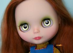 Lola's handpainted greens :)