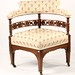 130. Antique American Corner Chair
