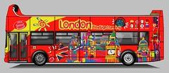 London Sighseeing Alexander Royale (Phil Tyler.) Tags: bus coach busdrawings busliveries paperbuses aldenhampsv