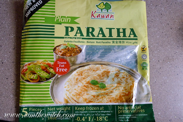 Roti Paratha Kawan Kawan Brand Frozen Paratha