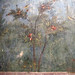 Painted Garden, Villa of Livia, detail with pomegranate tree