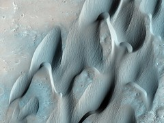 Dunes in Herschel Crater on Mars (NASA, Mars) (NASA's Marshall Space Flight Center) Tags: mars nasa exploration hirise mro msl marsreconnaissanceorbiter marslanding marssciencelaboratory curiosityrover