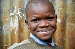 Sweet boy in Kibera | Nairobi | Kenya (molly.layde) Tags: poverty africa boy portrait black smiling hope child faces little kenya nairobi streetphotography kibera slum afrique eastafrica informalsettlement easternafrica qunia  qunia   kea   a