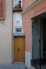 Bregenz - Kirchstrae 29 (Kecko) Tags: house building architecture geotagged austria sterreich europe haus kecko bregenz architektur gebude 2012 oesterreich vorarlberg thenarrowesthouseofeurope geo:lat=4750095634716359 geo:lon=9746982901648266