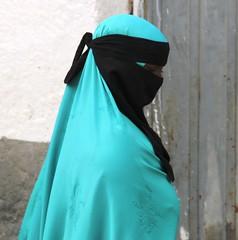 Veiled (Peter Schnurman) Tags: africa woman veiled muslim east ethiopia harar