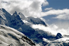 Alaska  Summer (janetfo747) Tags: wild snow ski alaska day cloudy wilderness mountians steep glacierbay untamed