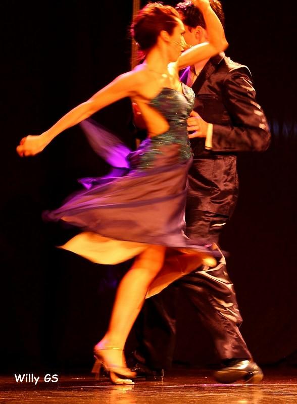 apasionado bailarines sexy en Cartagena