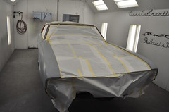 "70 Cutlass SX 455 Coupe Restoration Paint • <a style=""font-size:0.8em;"" href=""http://www.flickr.com/photos/85572005@N00/8151090443/"" target=""_blank"">View on Flickr</a>"