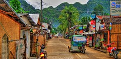 an early morning walk into town (Rex Montalban) Tags: philippines hdr elnido palawan rexmontalbanphotography