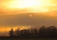 November Nocturne  (309-366) (nikkorglass) Tags: sunset mist fog turner thesun 309 366project 309366